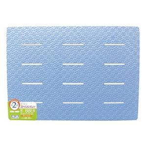 風呂マット NS ラバーマット ブルー 85×60cm 東和産業|n-kitchen
