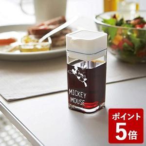 山崎実業 醤油差し プッシュ式醤油差し ミッキー ホワイト 90000 Yamazaki|n-kitchen