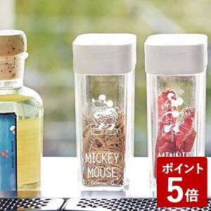 山崎実業 スパイスボトル ミッキー ホワイト 90002 Yamazaki|n-kitchen
