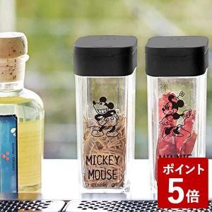 山崎実業 スパイスボトル ミッキー ブラック 90003 Yamazaki|n-kitchen