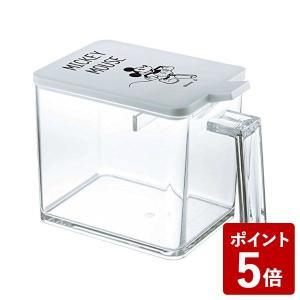 山崎実業 調味料入れ 調味料ストッカー L ミッキー ホワイト 90012 Yamazaki|n-kitchen