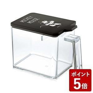 山崎実業 調味料入れ 調味料ストッカー L ミッキー ブラック 90013 Yamazaki|n-kitchen