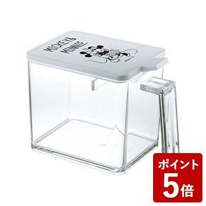 山崎実業 調味料入れ 調味料ストッカー L ミッキー&ミニー ホワイト 90016 Yamazaki|n-kitchen