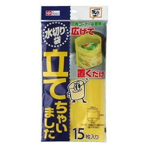 レック (LEC) 水切リ袋立テチャイマシタ 15枚入|n-kitchen