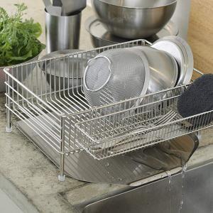 ラバーゼ ステンレス 水切りかご 小 LB-055 la base 和平フレイズ|n-kitchen