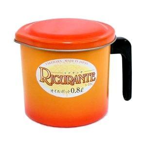 ビグランテ フッ素オイルポット 0.8L S-22C 竹原製缶|n-kitchen
