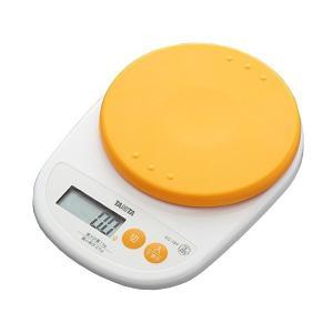 タニタ(TANITA) デジタルクッキングスケール 1kg(0.5g単位) アプリコットオレンジ KD-189-OR|n-kitchen