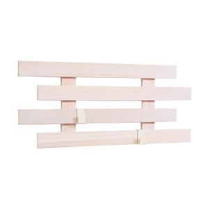 壁に付けられるすのこ ホワイトフック2個付 KBS-6629W オスマック|n-kitchen