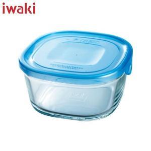 iwaki(イワキ) NEWパック&レンジ(アクアブルー)角型 KBT3240HBL|n-kitchen