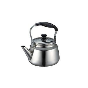 広口 ケトル 3.0L 茶こし あみ付 IH対応 ステンレス フレッティ 2 H-1236 パール金属|n-kitchen