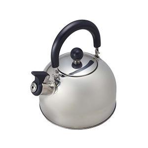 笛吹き ケトル 2.3L IH対応 ステンレス ノヴェル H-1391 パール金属 n-kitchen