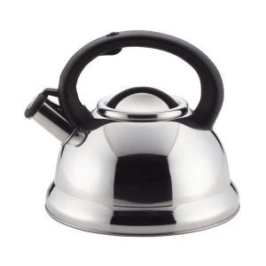 笛吹き ケトル 3.0L IH対応 早沸き ステンレス イージア H-2566 パール金属|n-kitchen