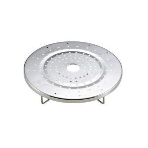 だんらん ステンレス製 鍋用 蒸し目皿 20・22cm 兼用 H-4242 パール金属|n-kitchen