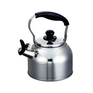 笛吹き 広口 ケトル 1.9L IH対応 ステンレス デイトナプラス HB-7350 パール金属 n-kitchen