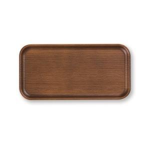 NH home 長角トレー 24cm ライトブラウン 44-78840-0 正和 トレイ お盆 ウッド調|n-kitchen