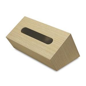 (TATSU−CRAFT)タツクラフト Bosk tissue box バスク ティッシュボックス スラント ナチュラル|n-kitchen