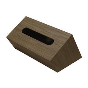 (TATSU−CRAFT)タツクラフト Bosk tissue box バスク ティッシュボックス スラント ブラウン|n-kitchen