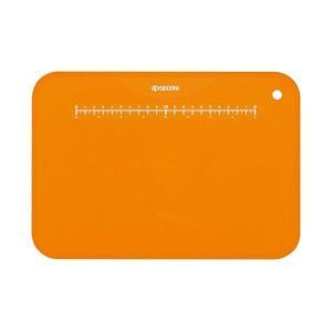 京セラ カラーまな板 オレンジ 約30×20cm 抗菌仕様 まな板立て付き CC-99 OR|n-kitchen