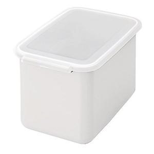 米びつ システムキッチン用 ライスボックス6 ホワイト BRB-6W 伸晃|n-kitchen