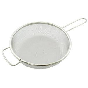 フライパン用 茹でざる 18-8 ステンレス 片手 25cm n-kitchen