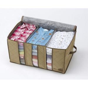竹炭配合衣類整理袋 小 コジット n-kitchen