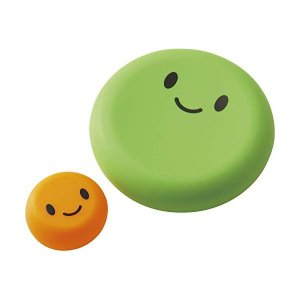 ベジシャキ ダイちゃんキャロちゃん グレーン&オレンジ 大小2個 野菜保存カバー コジット n-kitchen