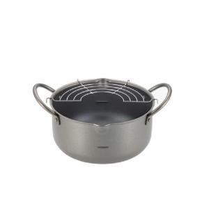 パロ 深型天ぷら鍋 20cm PFT-20W エポラス|n-kitchen