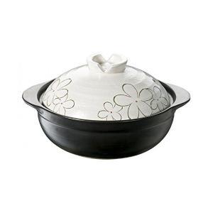 IH&直火対応 土鍋 花飾り 8号 3791 イシガキ産業 n-kitchen