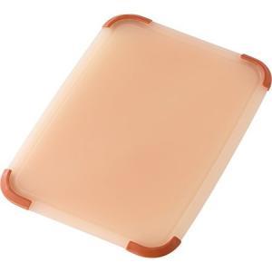 リベラタ 抗菌まな板 グリップボード レクタングル レッド GLII003 リス n-kitchen