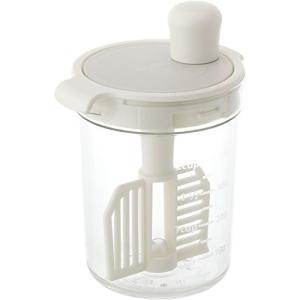 リベラリスタ(LIBERALISTA) ドレッシングミキサー ホワイト(白) 580ml E526124H リス n-kitchen