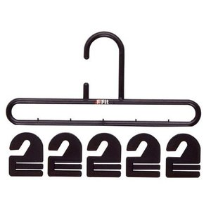 ネクタイハンガー フック20枚付 ブラック シンコハンガー株式会社|n-kitchen