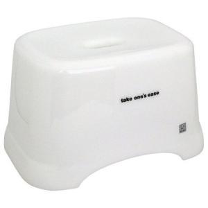 角型 風呂椅子 C take one's ease ホワイト シンカテック|n-kitchen