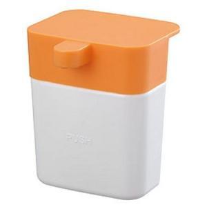 シンクのディスペンサー オレンジ PW1711-LRY5 三栄水栓|n-kitchen