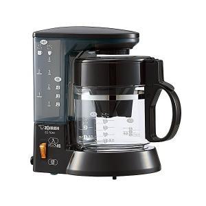 象印(ZOJIRUSHI) コーヒーメーカー 4杯用 ブラウン EC-TC40-TA|n-kitchen
