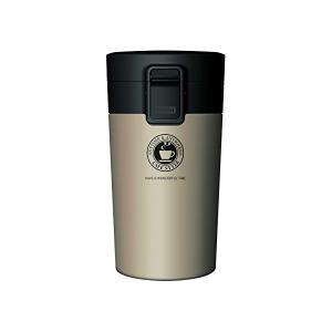 真空断熱携帯タンブラー 290ml シャンパンゴールド アスベル|n-kitchen