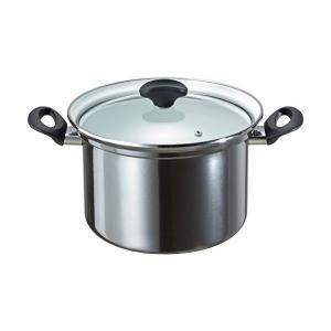 オニキス ホーロー 深型鍋 22cm 6.3L ON-22F 高木金属 n-kitchen