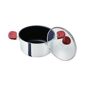 ベストコ 両手鍋 ミラー 20cm フィライト ND-5543 n-kitchen