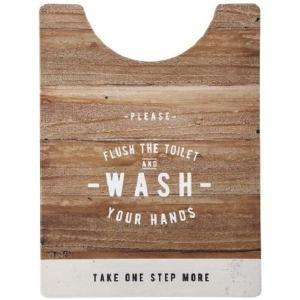 さらっと拭ける!トイレマット ルール ナチュラル ロング ND-9974 ベストコ|n-kitchen