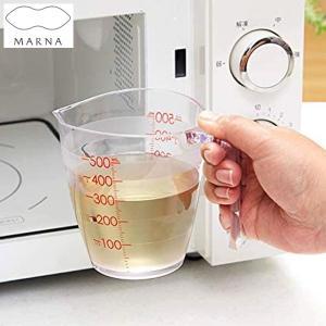 マーナ 目盛りが見やすい計量カップ500ml クリア K728CL MARNA n-kitchen