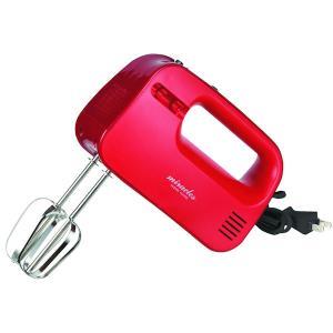 パール金属 ミラクルス 電動ハンドミキサー レッド R&R D-1129 泡立て器 n-kitchen