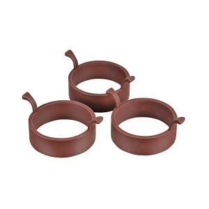 ラフィネ シリコーン パンケーキ リング ラウンド (小) 3個組 D-6232 パール金属 n-kitchen