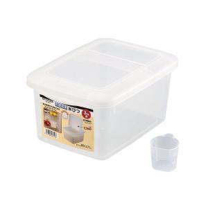米びつ 3kg 冷蔵庫用 計量カップ付 ストックス 日本製 H-5541 パール金属 n-kitchen