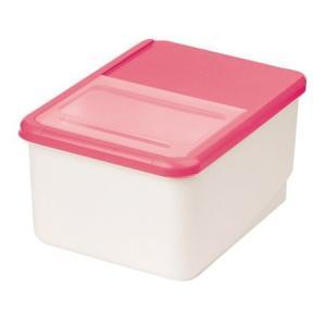 システムキッチン用米びつ 10kg用 ピンク パール金属(PEARL METAL) n-kitchen