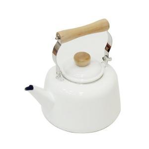 ホーロー ケトル 2.7L ホワイト IH対応 ラファイエ H-7868 パール金属 n-kitchen