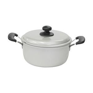 水明 両手鍋 18cm A-1091 北陸アルミニウム n-kitchen