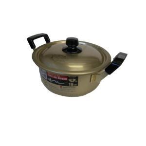 純しゅう酸 味づくし 18cm 両手鍋 北陸アルミニウム n-kitchen