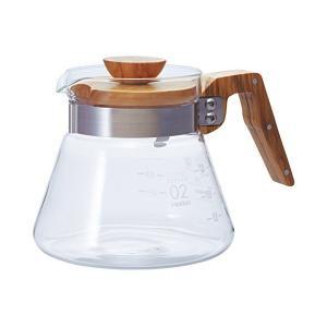 HARIO(ハリオ) コーヒーサーバー オリーブウッド 600ml VCWN-60-OV|n-kitchen