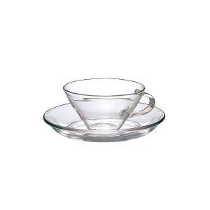 HARIO(ハリオ) 耐熱 カップ & ソーサー ワイド 230ml CSW-1T|n-kitchen