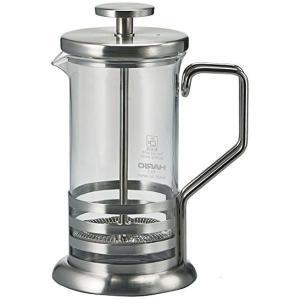 HARIO (ハリオ) ハリオール・ブライトJ プレス式 2杯用 ステンレス THJ-2-HSV|n-kitchen