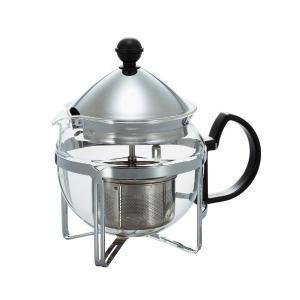 HARIO(ハリオ) 茶王 4人用シルバー CHAN-4SV|n-kitchen